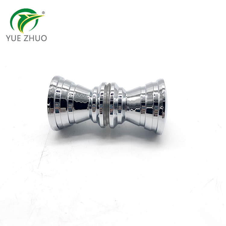 Glass accessories Zinc alloy Glass Door Handle Shower Room Knob for Sliding Glass Door