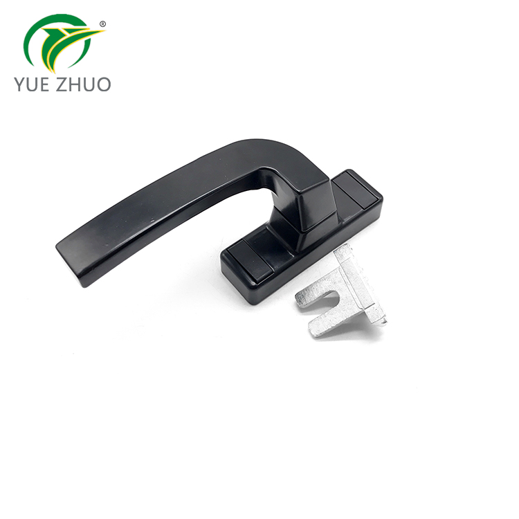 High quality black old style sliding aluminium window handle casement door handle