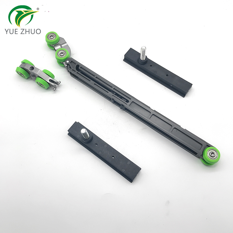 High quality wardrobe door shift buffer damper sliding door rail pulley bumper