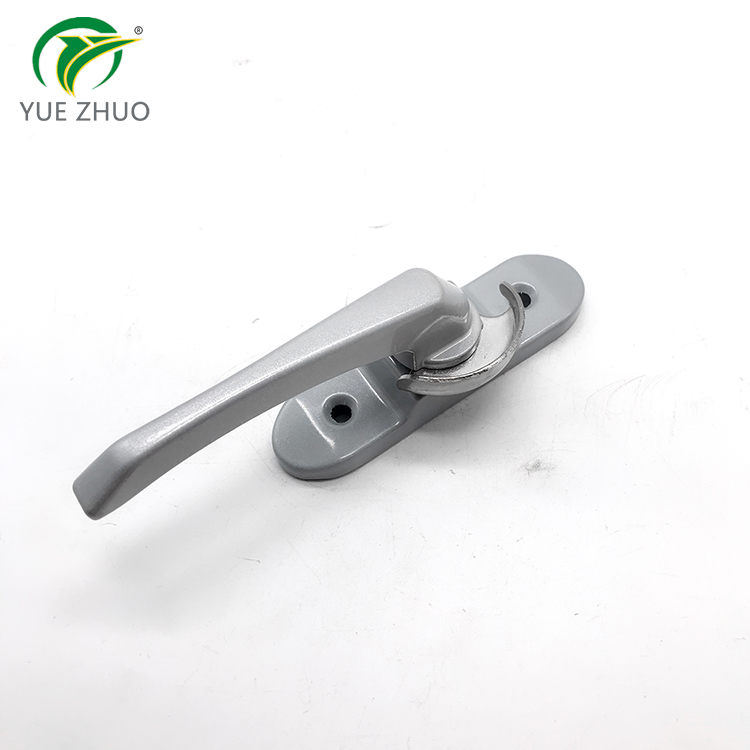 South America aluminum window accessories moon lock crescent lock