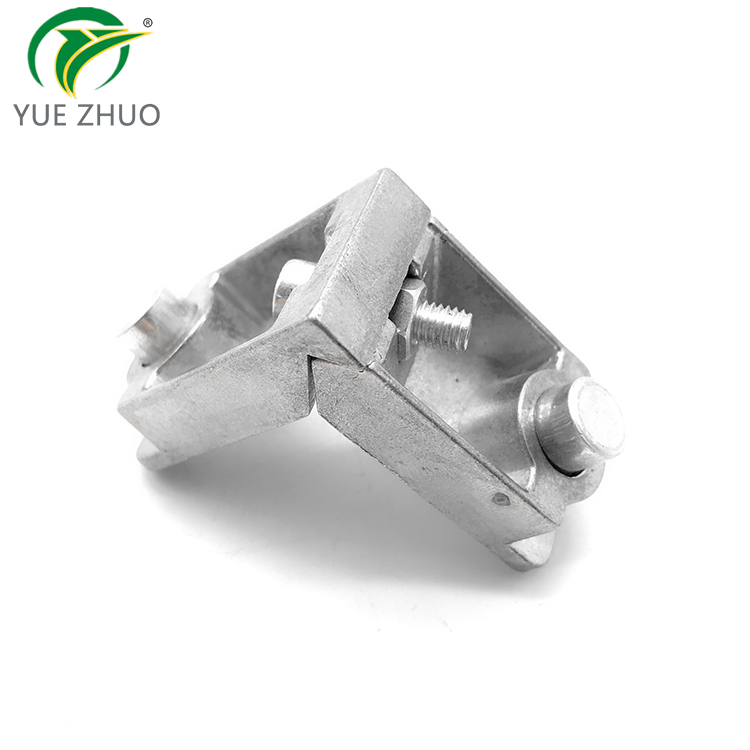 Aluminium profile window accessory die cast corner joint for building material