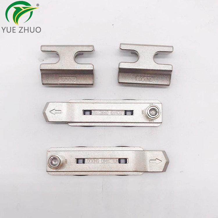 High quality window accessories 4 set lock point 23 slots lock seat for window